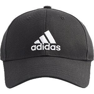 Levně Černá kšiltovka Adidas BBall Cap Cot