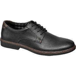 Levně Černá komfortní společenská obuv Easy Street
