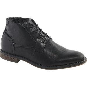 Levně Černá kotníková obuv Memphis One
