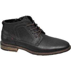E-shop Černá kotníková obuv Venice se zipem