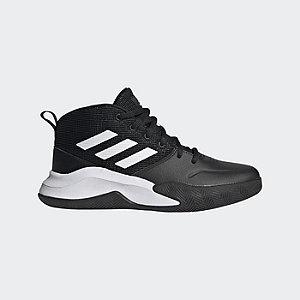 Levně Černé kotníkové tenisky Adidas Own The Game