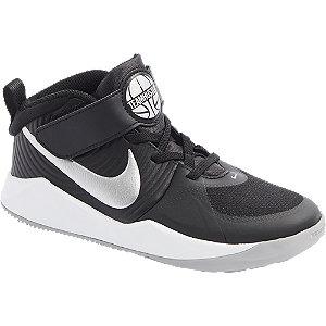 Levně Černé kotníkové tenisky Nike Team Hustle Quick