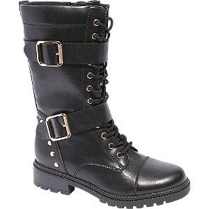 Levně Černá šněrovací obuv Catwalk