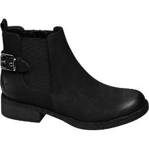 Levně Černá obuv chelsea Graceland