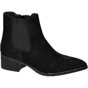 Levně Černá obuv chelsea Graceland se zipem