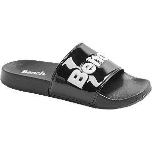 Levně Černé pantofle Bench