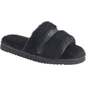 Levně Černé pantofle Esprit
