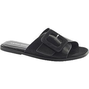Levně Černé pantofle Vero Moda