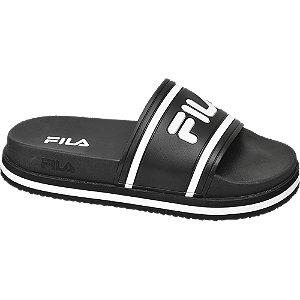 Levně Černé plážové pantofle Fila
