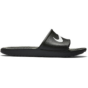 Levně Černé plážové pantofle Nike Kawa Slide