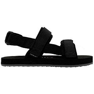 Levně Černé plážové sandály Vero Moda