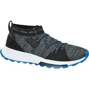 Levně Černé ponožkové tenisky Adidas Quesa
