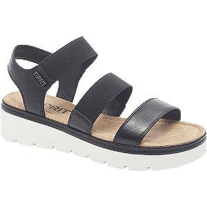 Levně Černé sandály Esprit