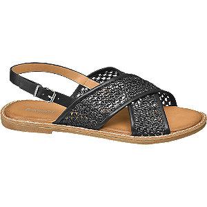 Levně Černé sandály Graceland
