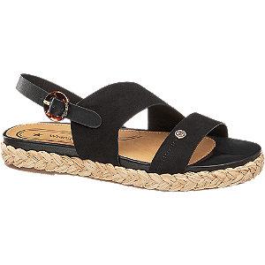Levně Černé sandály Wrangler