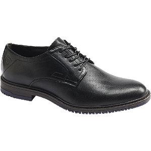 Levně Černá společenská obuv Venice