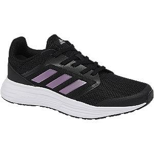 Levně Černé tenisky Adidas Galaxy 5