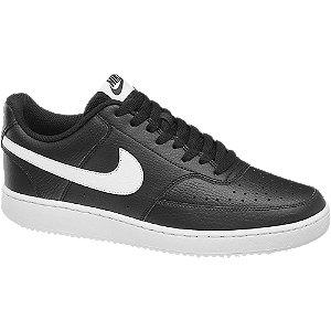 Levně Černé tenisky Nike Court Vision Lo