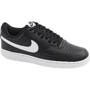 Levně Černé tenisky Nike Court Vision Low