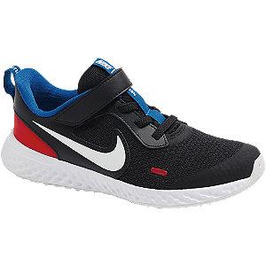 Levně Černé tenisky na suchý zip Nike Revolution 5