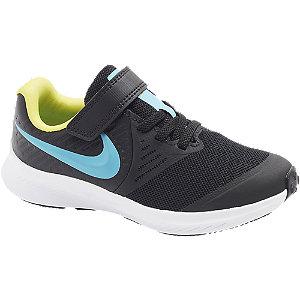 Levně Černé tenisky na suchý zip Nike Star Runner 2