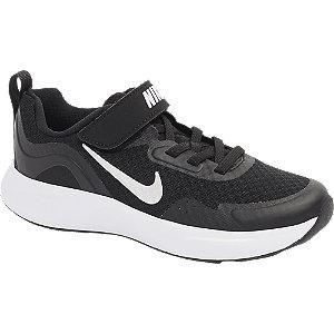 Levně Černé tenisky na suchý zip Nike Wear All Day