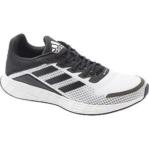 Levně Černo-bílé tenisky Adidas Duramo SL