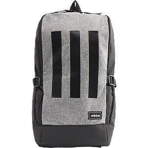 Levně Černo-šedý batoh Adidas