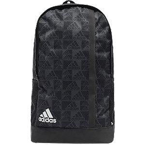 Levně Černo-šedý batoh Adidas GFX M Bp