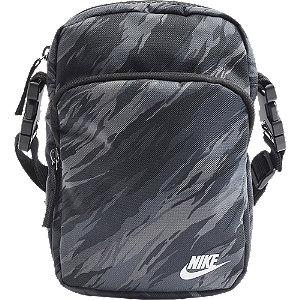 Levně Černo-šedá taška přes rameno Nike