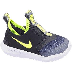Levně Černo-modré dětské slip-on tenisky Nike Flex Runner