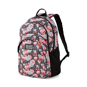 Levně Černo-růžový batoh Puma