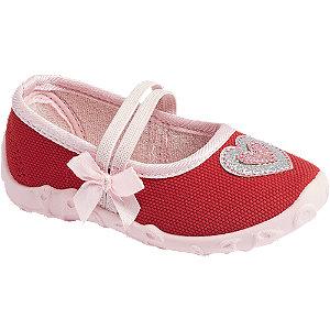 Levně Červené dětské přezůvky Cupcake Couture