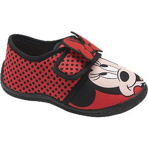 Levně Červené dětské přezůvky Minnie Mouse