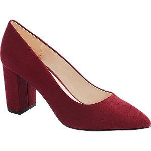 Levně Červené lodičky Vero Moda