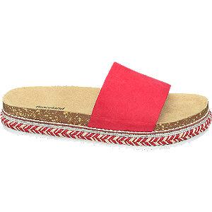 Levně Červené pantofle Graceland