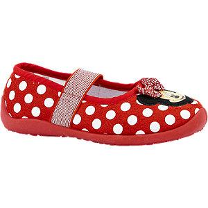 Levně Červené přezůvky Minnie Mouse