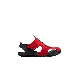 Levně Červené plážové sandály Nike Kids Kawa Shower