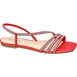 Levně Červené sandály Catwalk