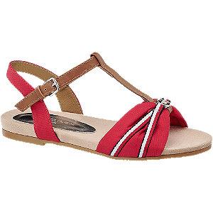 Levně Červené sandály Tom Tailor