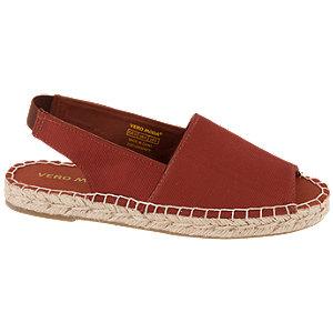 Levně Červené sandály Vero Moda