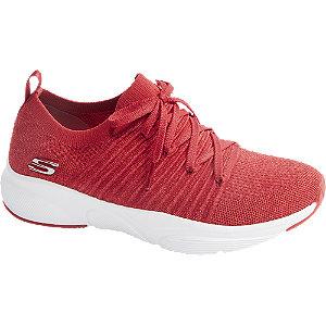 Levně Červené tenisky Skechers