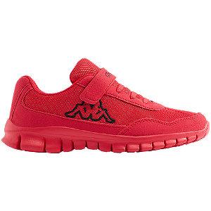 Levně Červené tenisky na suchý zip Kappa Follow Bc K