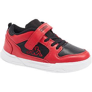Levně Červené tenisky na suchý zip Kappa Lineup Low K