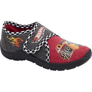 Levně Červeno-černé bačkory Hot Wheels