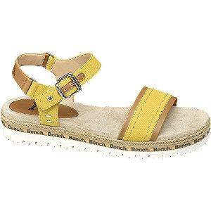 Levně Žluté sandály Bench
