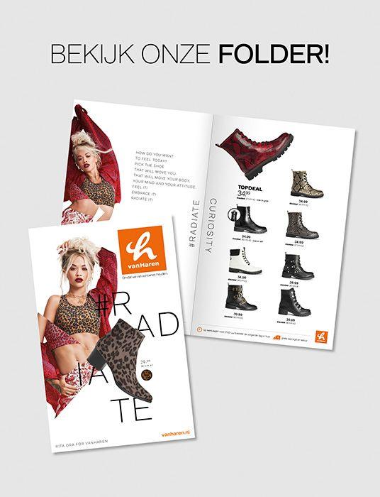 Rita Ora folder vanHaren