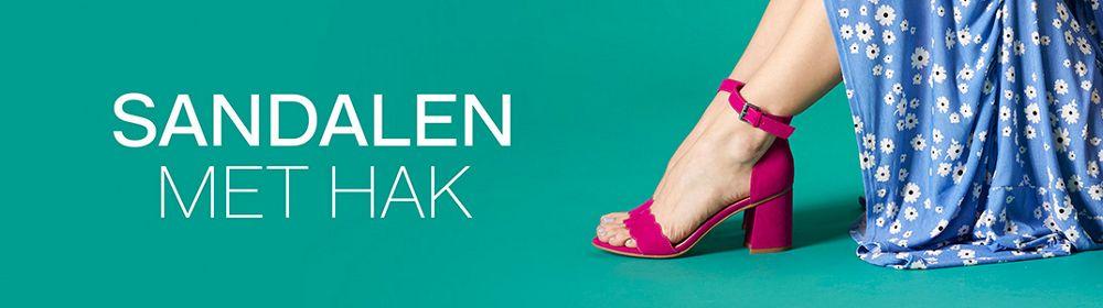 Sandalen met hak Dames vanHaren