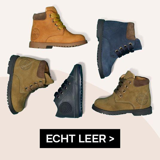 Leren schoenen Jongens vanHaren