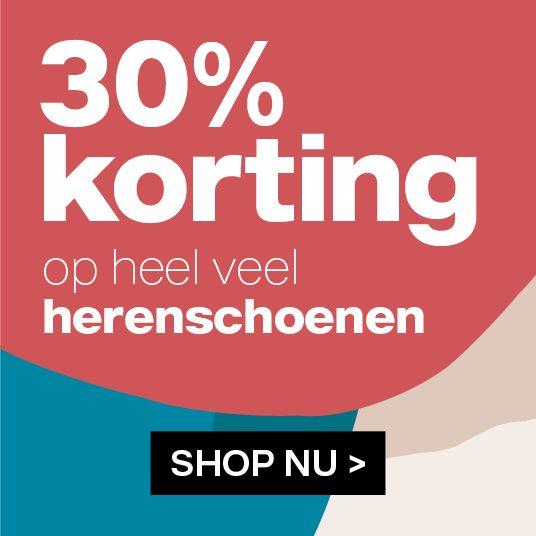 30% korting herenschoenen